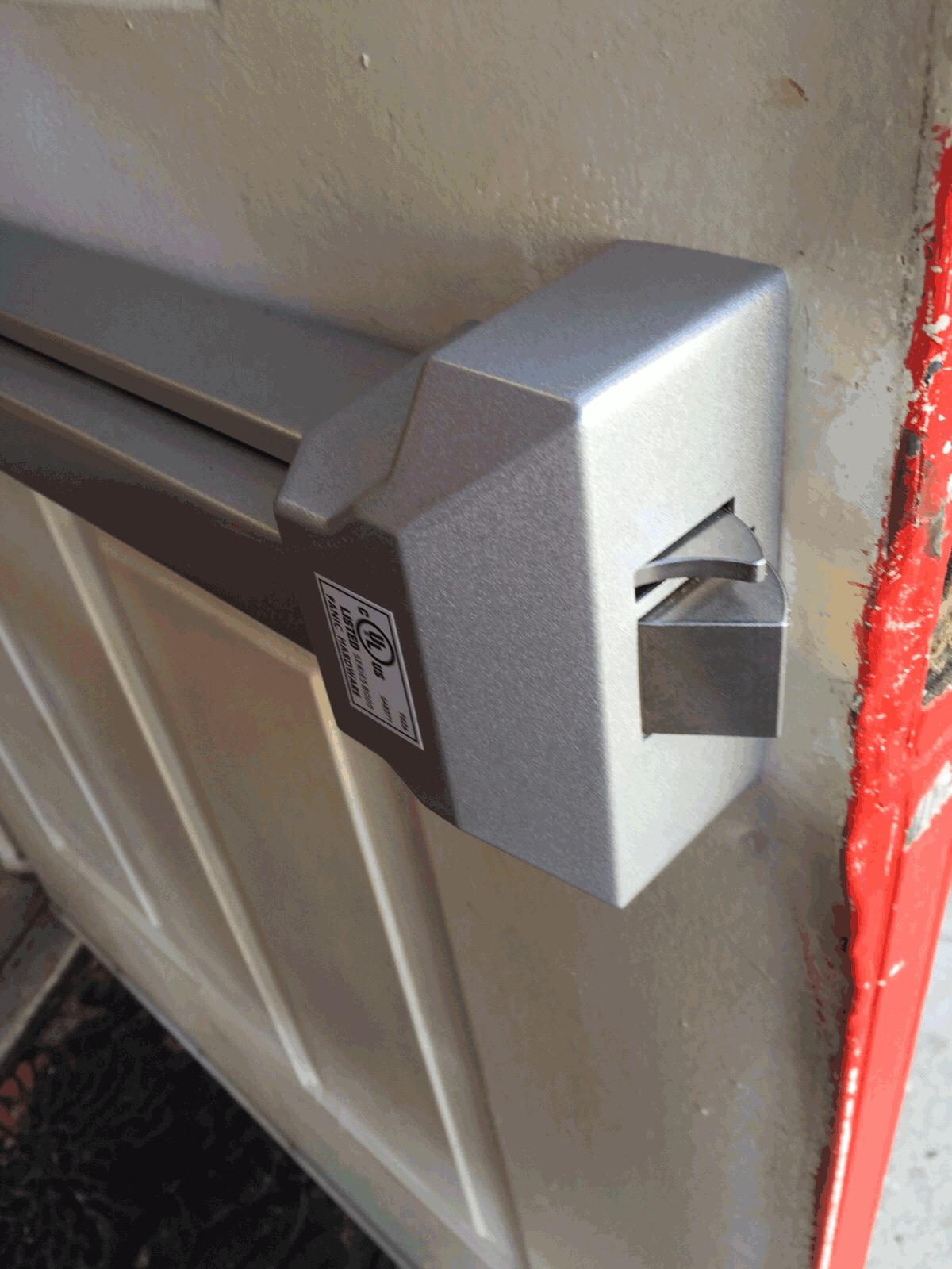 Push Bar Installation In Brooklyn